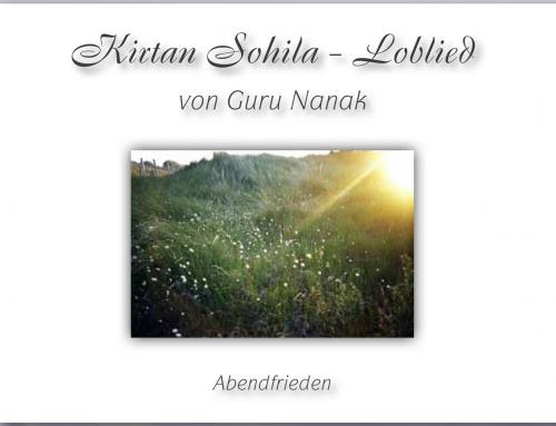 Kirtan Sohila, gelesen auf Deutsch (Video)